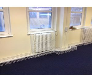 Radiator & Pipe Guards for Benjamin Rabbit