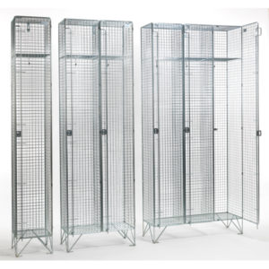 Stainless Steel Mesh Lockers