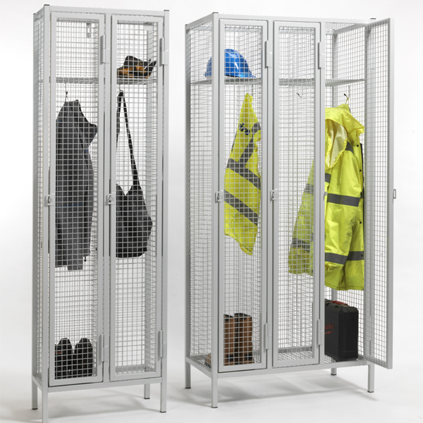 1 Door Industrial Wire Mesh Lockers
