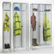 1 Door Wire Mesh Lockers