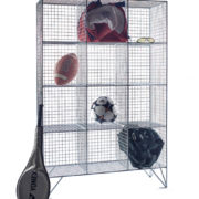 12 Comp Mesh Locker No Doors-For Sports