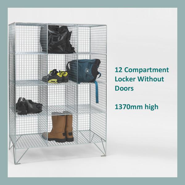 12-Compartment-Mesh-Locker-No-Doors