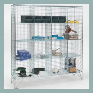 16-Compartment-Mesh-Locker-No-Doors