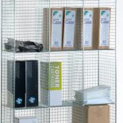 4 Comp Locker No Doors - Nest of 3