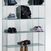 6 Comp Locker No Doors-Nest of 3
