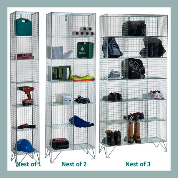 6-Comp-Wire-Mesh-Locker-No-Doors-Nest