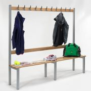 2000mm Single Sided Bench with Hooks