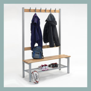 Changing-Room-Bench-with-Hooks-&-Shoe-Shelf