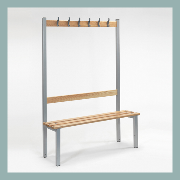 Changing-Room-Bench-with-Hooks