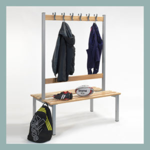 Changing-Room-Island-Bench-with-Hooks