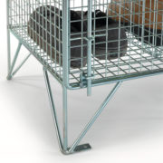 Clean & Dirty Mesh Locker Base
