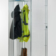 Clean & Dirty Mesh Locker - Open