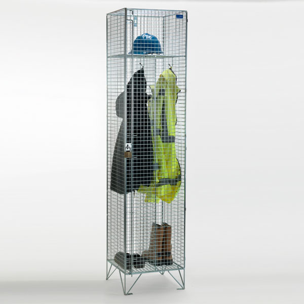 Clean and Dirty Wire Mesh Locker