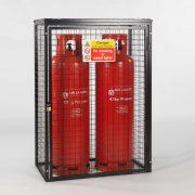 Cylinder Cage for 2 x 47kg cylinders (Black)
