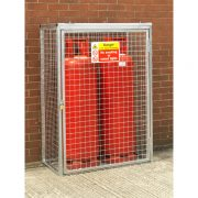 Cylinder Cage for 2 x 47kg cylinders (HDG)
