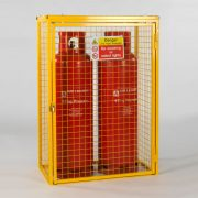 Cylinder Cage for 2 x 47kg cylinders (Yellow)