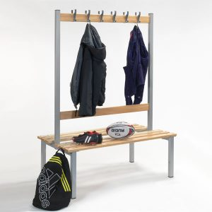 Double Sided Benches With Hooks