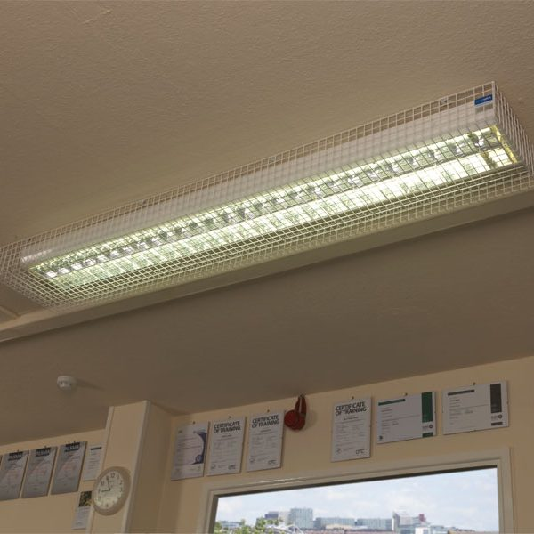Fluorescent Light Guards - 25mm Mesh