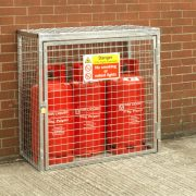 Gas Cylinder Cage for 3 x 19kg cylinders (Hot Dip Galv)