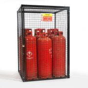 Gas Cylinder Cage for 9 x 47 kg Cylinders