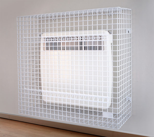 Wire Mesh Panel Heater Guards Wall Mounted Electric