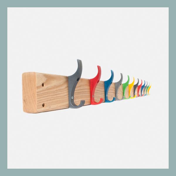 Wall-Mounted-Hook-Board