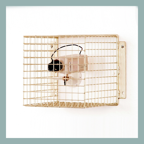 Wire Mesh Camera Guard 25mm mesh