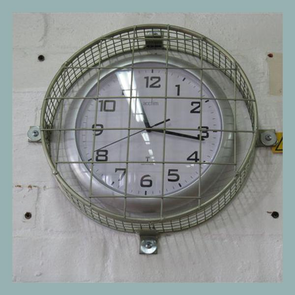 Wire Mesh Clock Guards