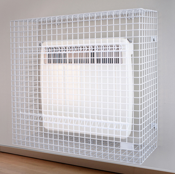 Wire Mesh Panel Heater Guard by AMP Wire Ltd