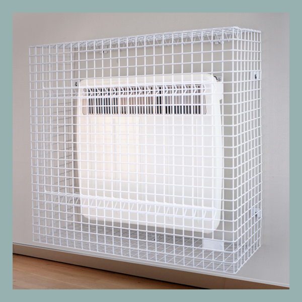 Wire Mesh-Panel-Heater-Guard