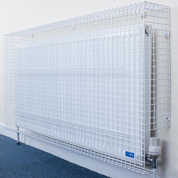 Wire Mesh Radiator Guard by AMP Wire Ltd