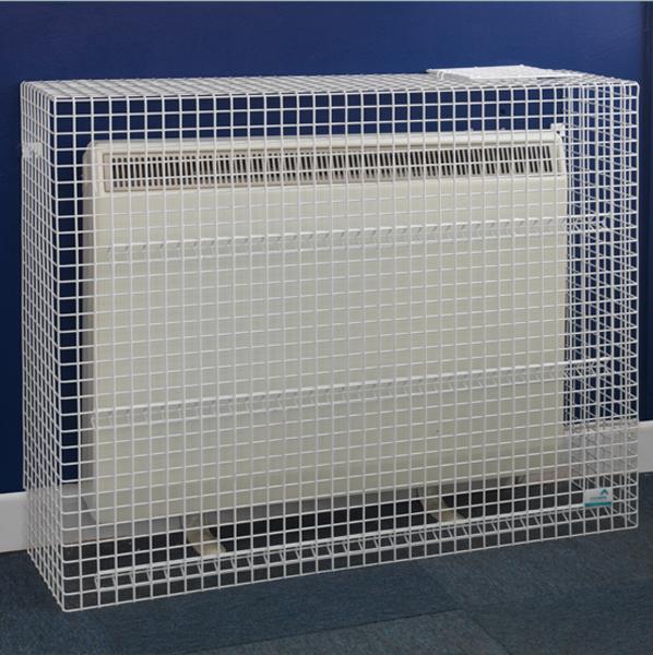 Wire Mesh Storage Heater Guard by AMP Wire Ltd
