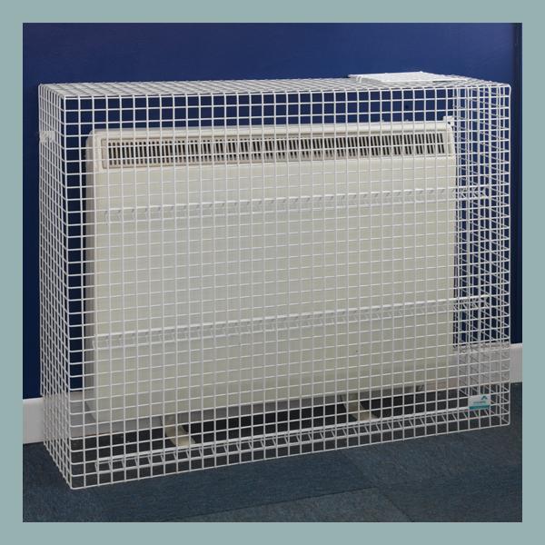 Wire Mesh-Storage-Heater-Guard