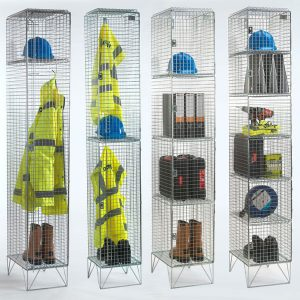 Express Wire Mesh Lockers