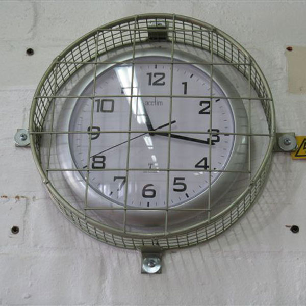 Wire Mesh Clock Guards