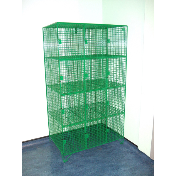 Customised Wire Mesh Lockers from AMP Wire Ltd