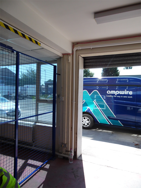 Wire Mesh Partitions - Custom Made by AMP Wire Ltd