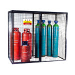 Larger Gas Cylinder Cage with single door