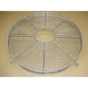 Fan Guard With a Hole & Flange