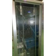 Mesh Door Guard & Screen in Use