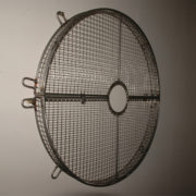 Split Fan Guards with Hole & Flange