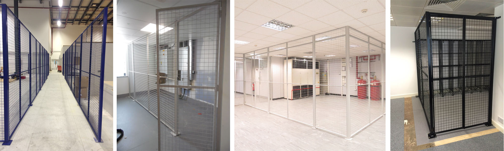 Wire Mesh Partitions - Ampwire