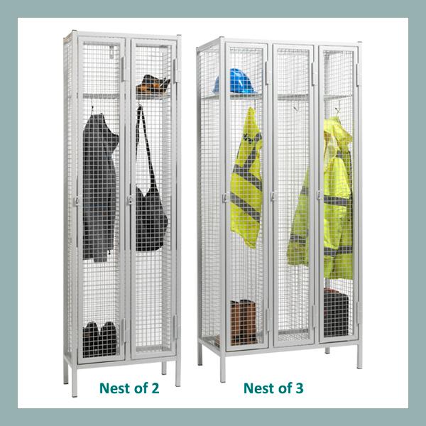 1-Door-Heavy-Duty-Wire-Mesh-Locker-Nest