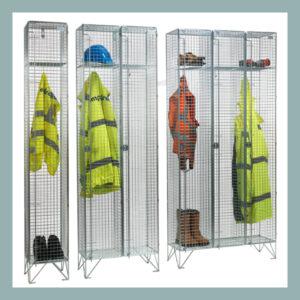 1-Door-Wire-Mesh-Lockers-Nests