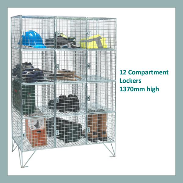 12-Compartment-Mesh-Locker