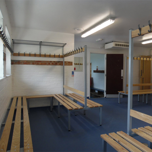 Customised Changing Room Benches