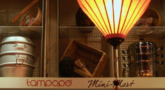 Display Lockers for Tampopo
