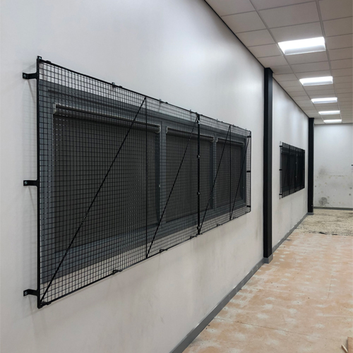 Internal Wire Mesh Window Guards