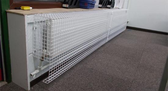 Large Wire Mesh Radiator Guard