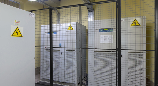 Mesh Partition for Electrial Units